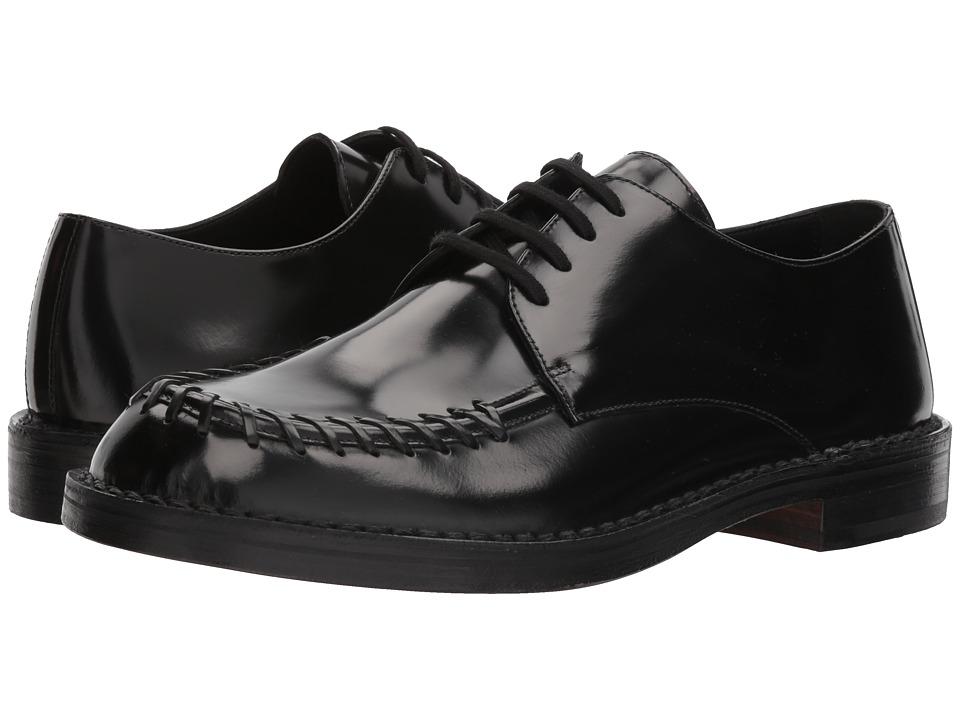 MARNI - Whip Stitch Oxford (Black/Black) Mens Shoes