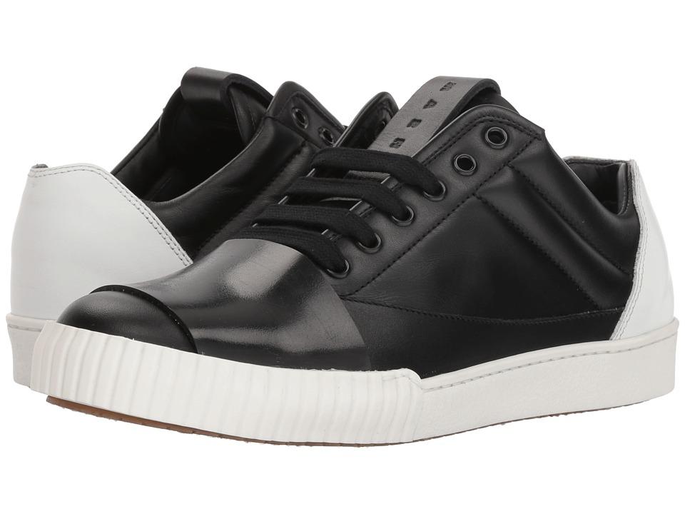 MARNI - Color Block Sneaker (Black/White) Mens Shoes