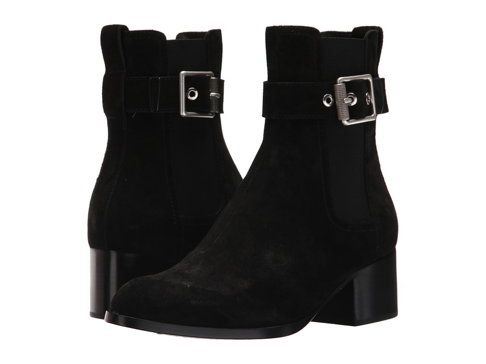 rag & bone - Wilson Boot (Black Suede) Womens Shoes