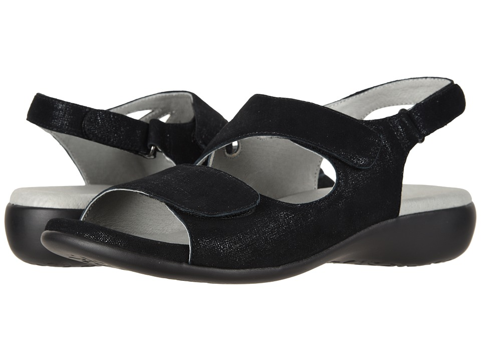 David Tate - Lilly (Black Cosmo) Womens Sandals