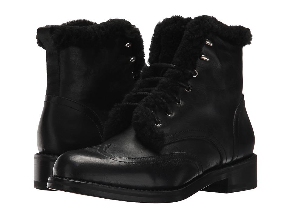 rag & bone Cozen Boot (Black/Shearling) Women
