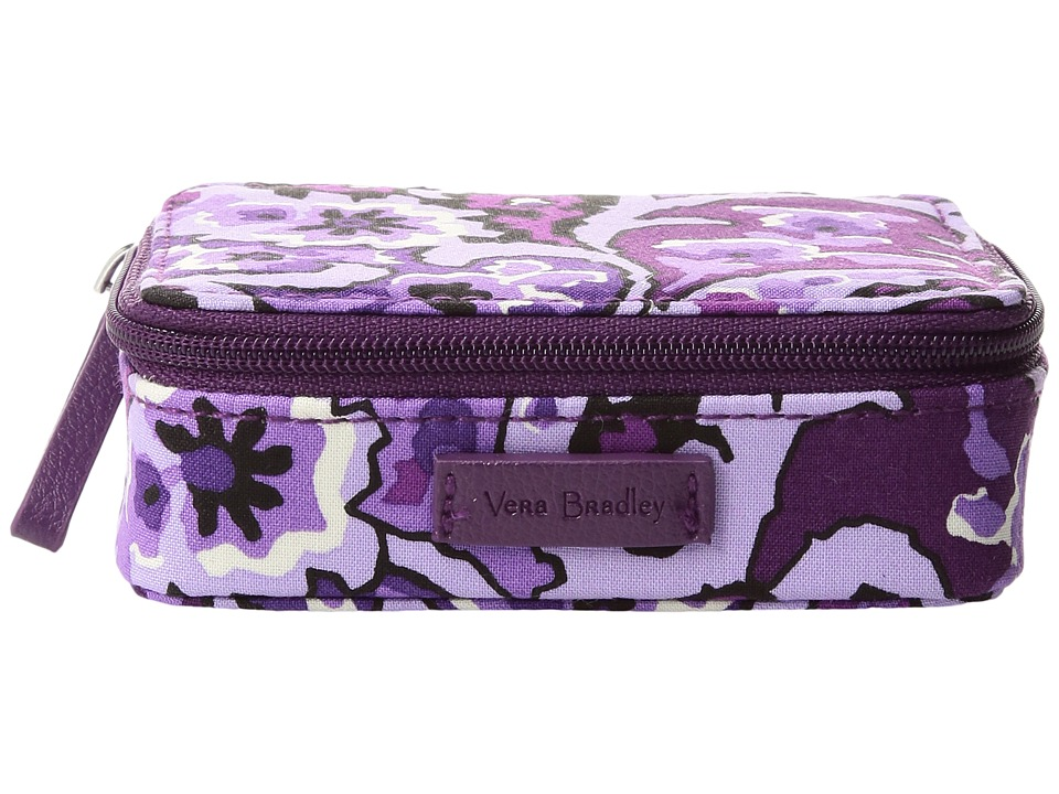 Vera Bradley - Iconic Travel Pill Case (Lilac Paisley) Travel Pouch