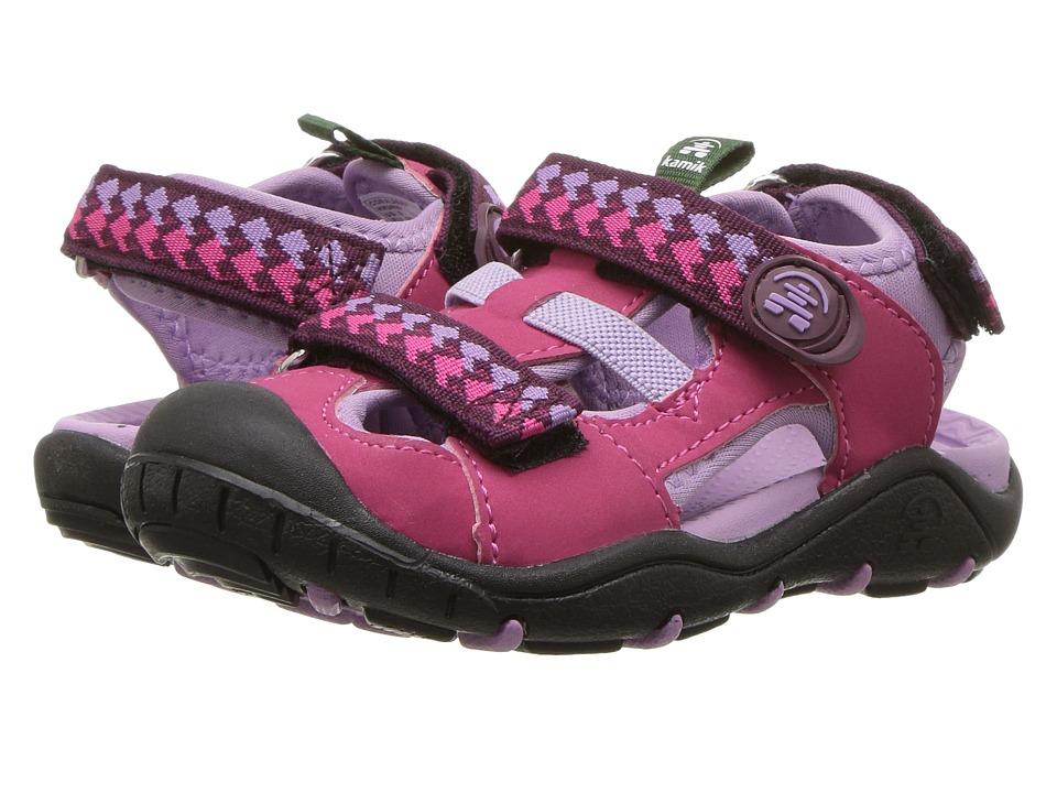 Kamik Kids - Coralreef (Toddler/Little Kid/Big Kid) (Rose) Girls Shoes