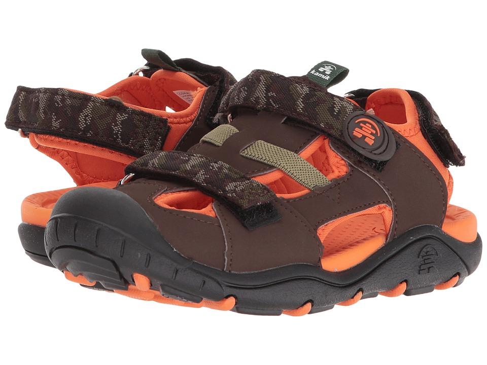 Kamik Kids - Coralreef (Toddler/Little Kid/Big Kid) (Orange) Boys Shoes