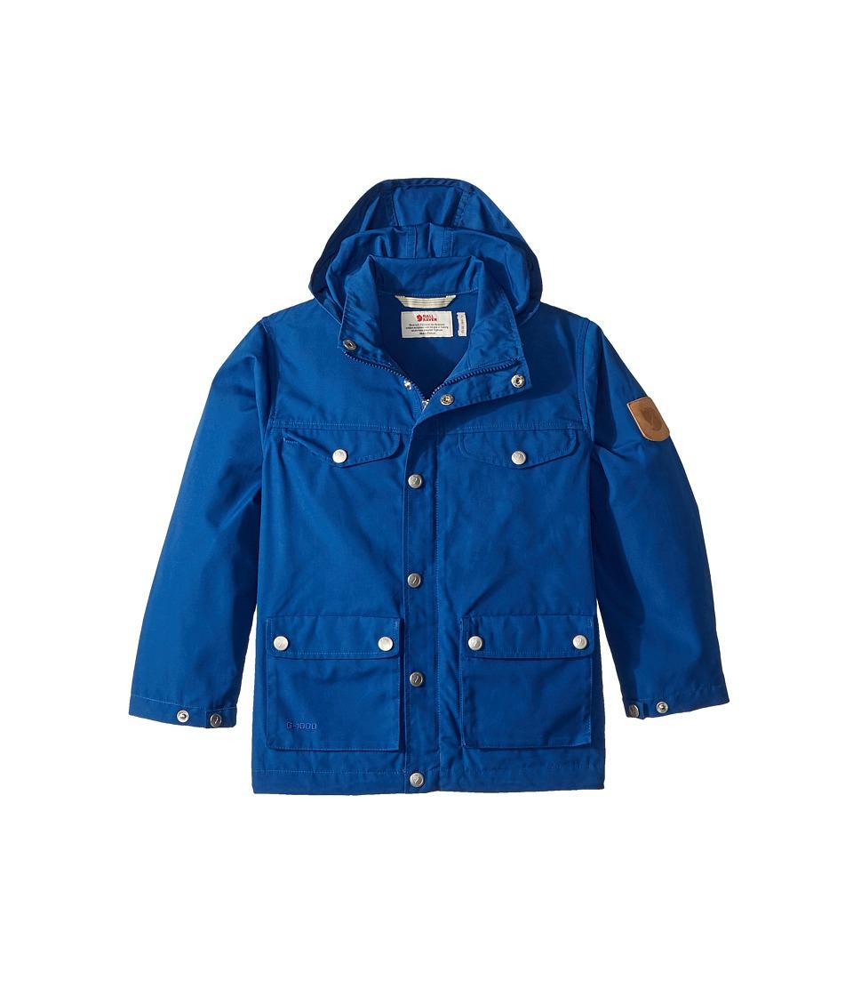 Fjallraven Kids - Greenland Jacket (Little Kids/Big Kids) (Deep Blue) Boys Coat