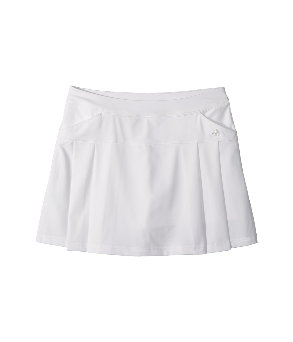 adidas Golf Kids - Rangewear Skort (Big Kids) (White 1) Girls Skort