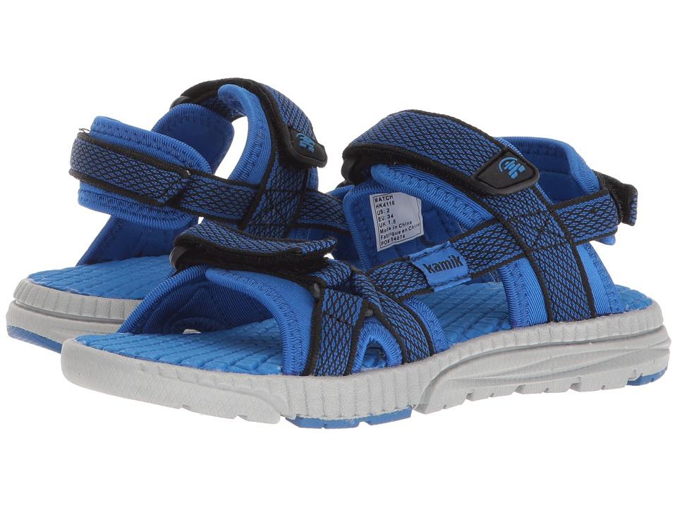 Kamik Kids - Match (Toddler/Little Kid/Big Kid) (Blue) Boys Shoes