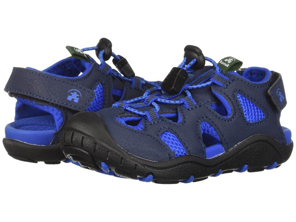 Kamik Kids - Oyster 2 (Toddler/Little Kid/Big Kid) (Navy) Boys Shoes