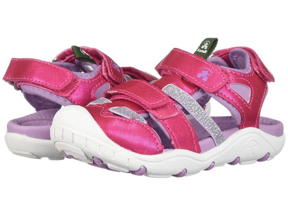 Kamik Kids - Pearl (Toddler/Little Kid/Big Kid) (Rose) Girls Shoes