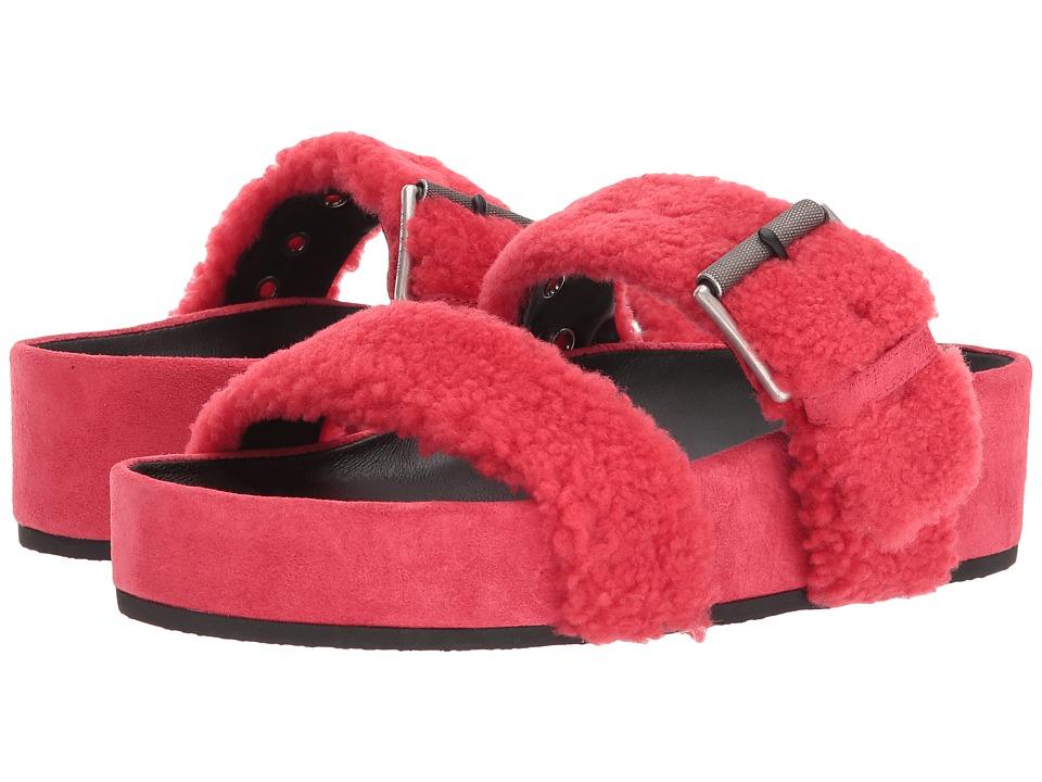 rag & bone - Evin (Tberry Shearling) Women's Shoes