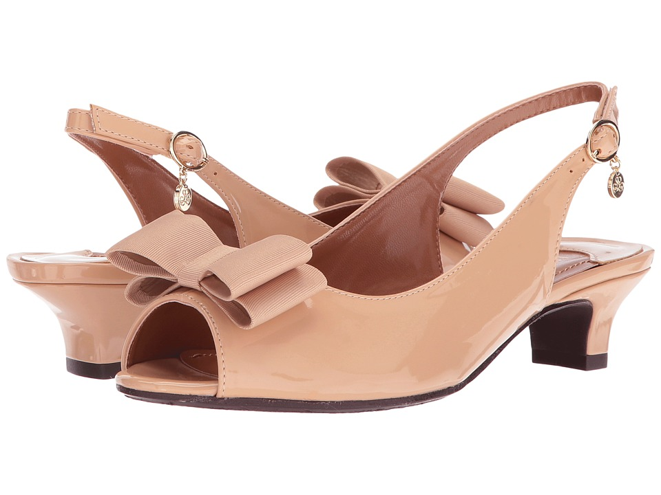 J. Renee Landan (Nude Patent) High Heels