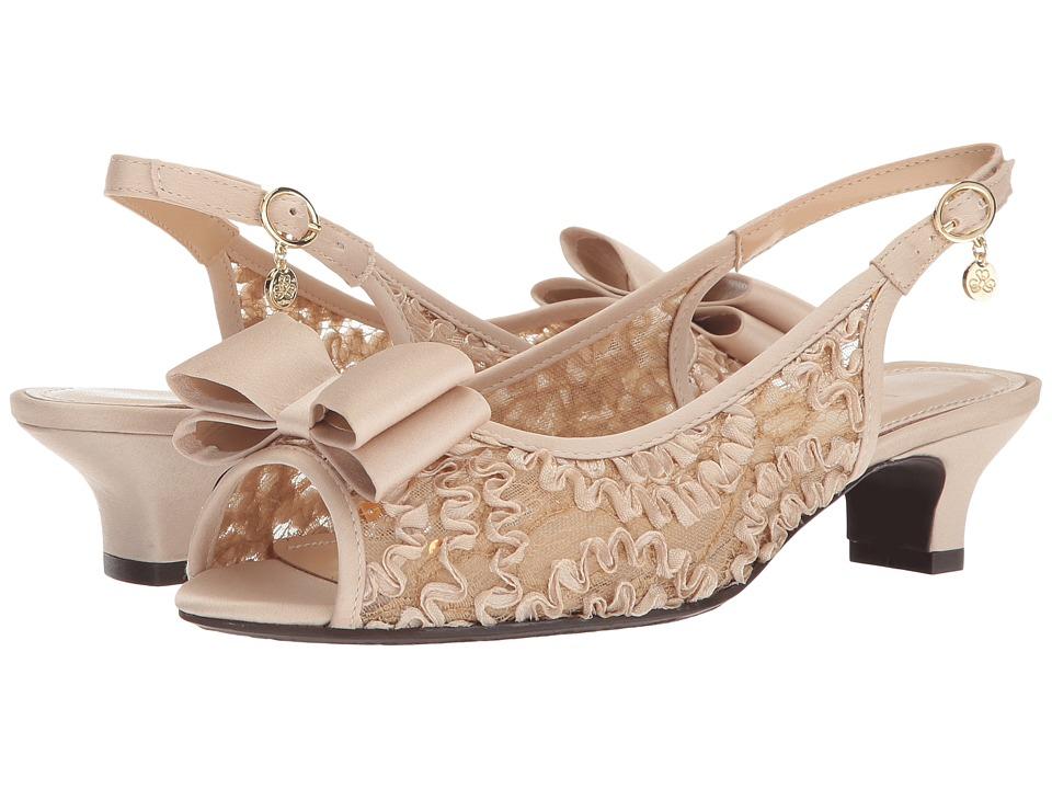 J. Renee Landan (Champagne Rib) High Heels