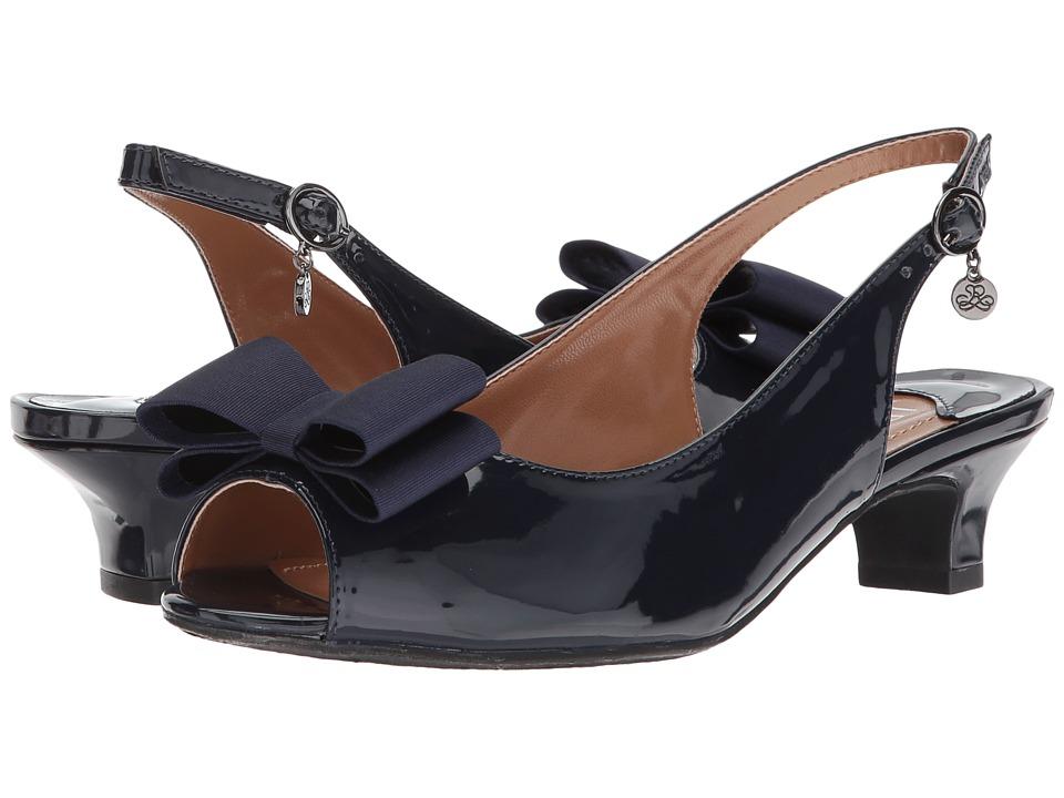 J. Renee Landan (Navy Patent) High Heels