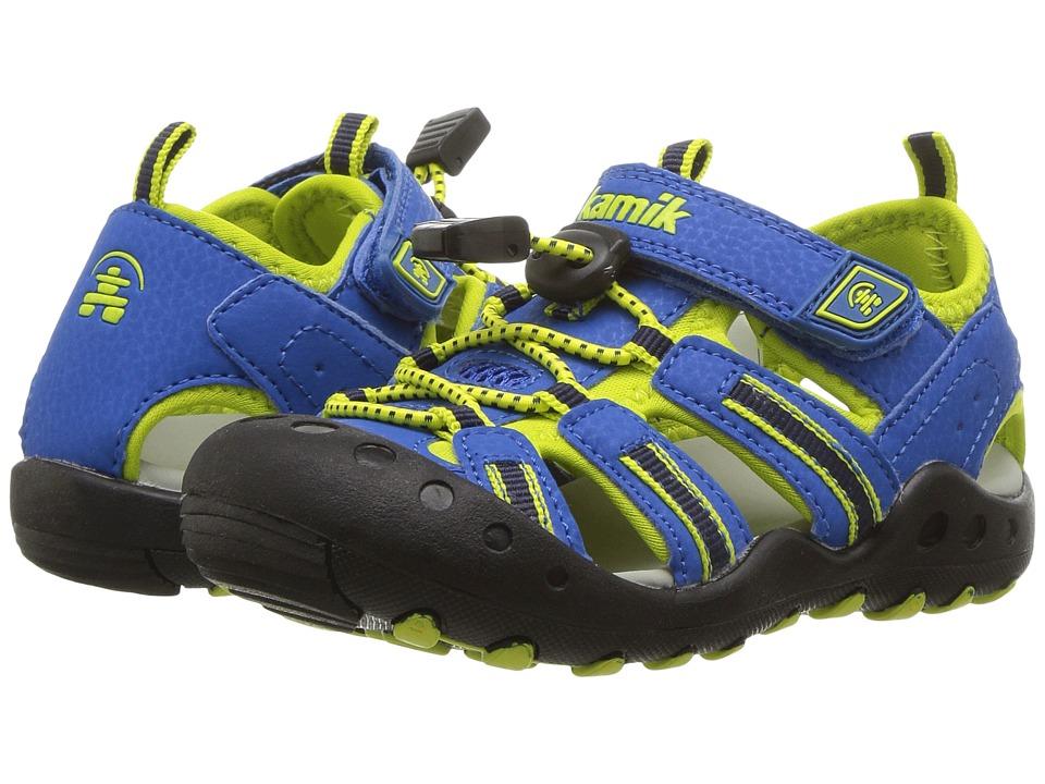 Kamik Kids - Crab (Toddler/Little Kid/Big Kid) (Blue) Kids Shoes