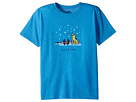 Life is Good Kids Awesome Jake and Rocket Cool Tee (Little Kids/Big Kids)