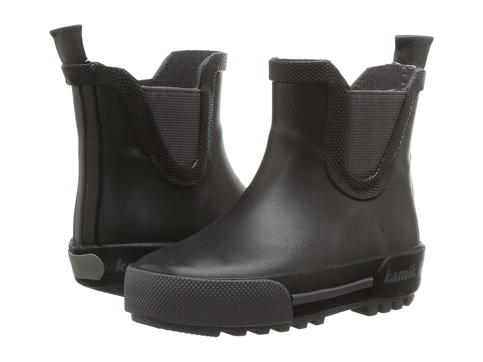 Kamik Kids - Rainplaylo (Infant/Toddler/Little Kid/Big Kid) (Black) Kids Shoes