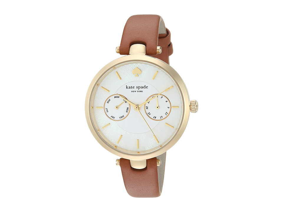Kate Spade New York - Holland - KSW1399 (Gold/Tan) Watches