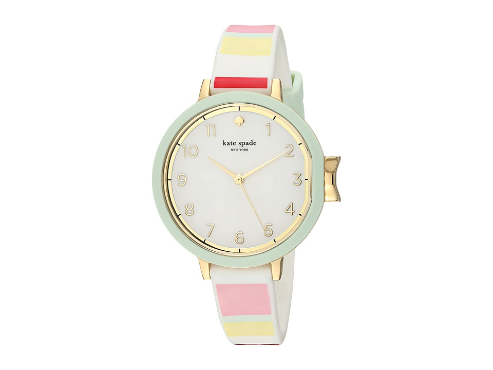 Kate Spade New York - Park Row Silicone - KSW1410 (Gold) Watches