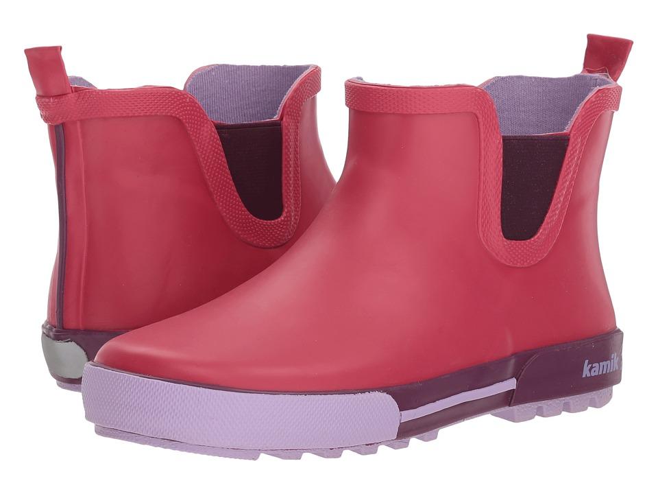 Kamik Kids - Rainplaylo (Little Kid) (Rose) Girls Shoes