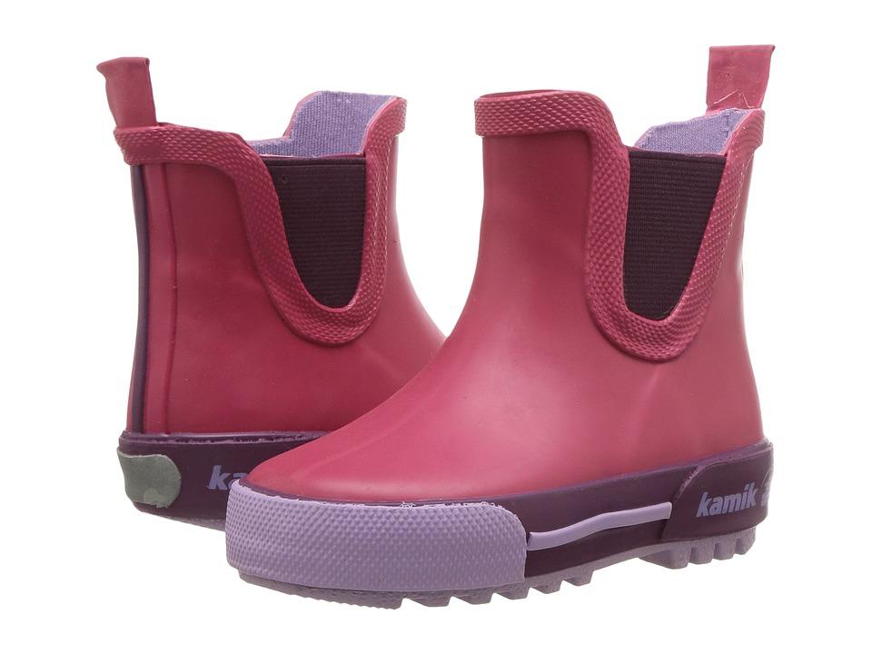 Kamik Kids - Rainplaylo (Toddler) (Rose) Girls Shoes