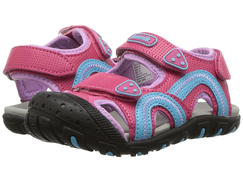 Kamik Kids - Seaturtle (Toddler/Little Kid/Big Kid) (Rose) Girls Shoes