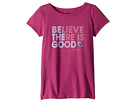 Life is Good Kids Believe There is Good Crusher Tee (Little Kids/Big Kids)
