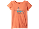 Life is Good Kids Whale and Penguin BFF's Crusher Tee (Little Kids/Big Kids)