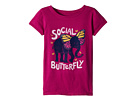 Life is Good Kids Social Butterfly Crusher Tee (Little Kids/Big Kids)