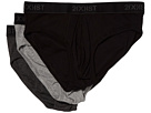 2(X)IST Cotton 3-Pack No Show Brief