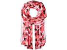 Kate Spade New York Tapestry Rose Silk Oblong Scarf