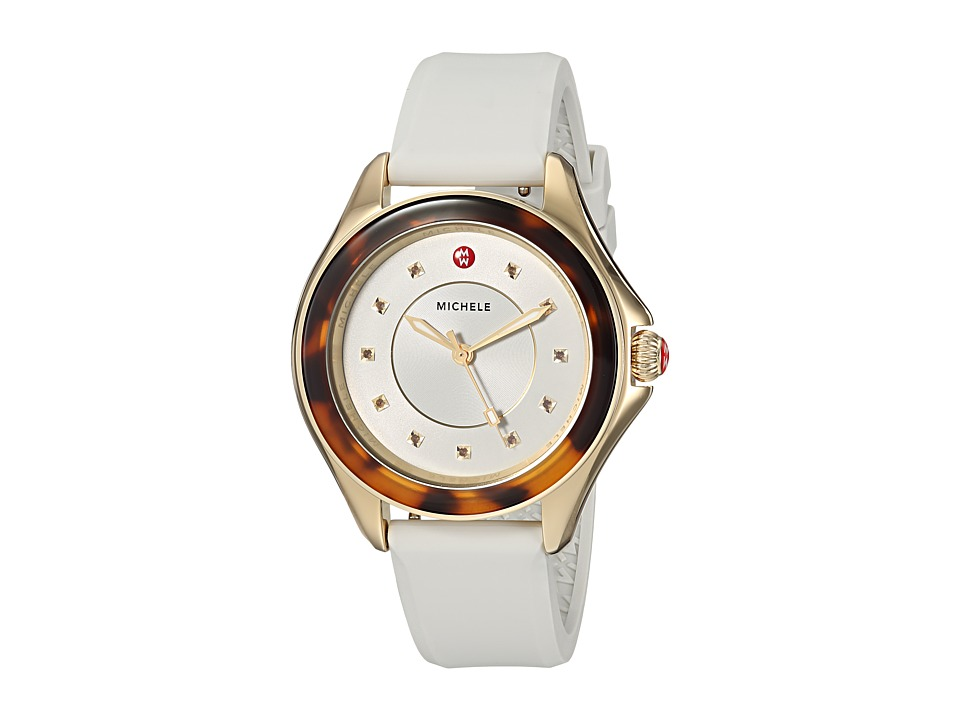 Michele Watches The Cape Gold-Plated Stainless Steel Whit...