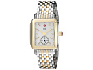 Michele Deco Diamond-Two-Tone Stainless Steel Watch
