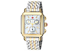 Michele Michele Deco Diamond Two-Tone Stainless Steel Watch