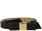 Kate Spade New York 25mm Grossgrain Embossed Tab Bow Belt