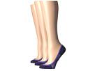 Feetures Hidden Super Low Floral Socks 3-Pair Pack