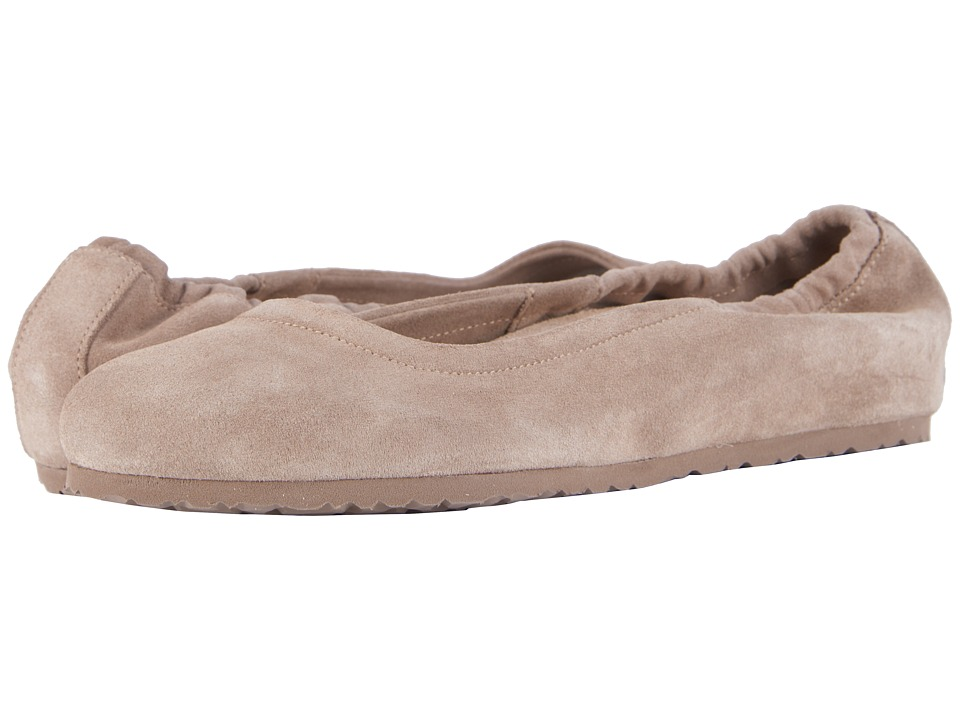 Birkenstock Celina (Taupe Suede) Slip-On Shoes