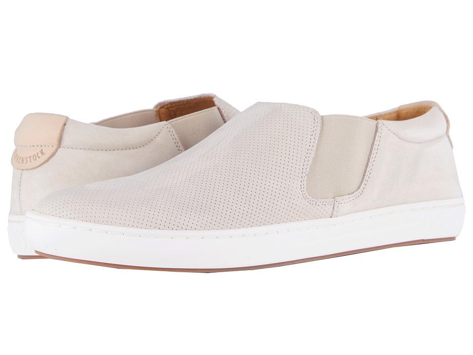Birkenstock Barrie (Off-White Nubuck) Women's Shoes