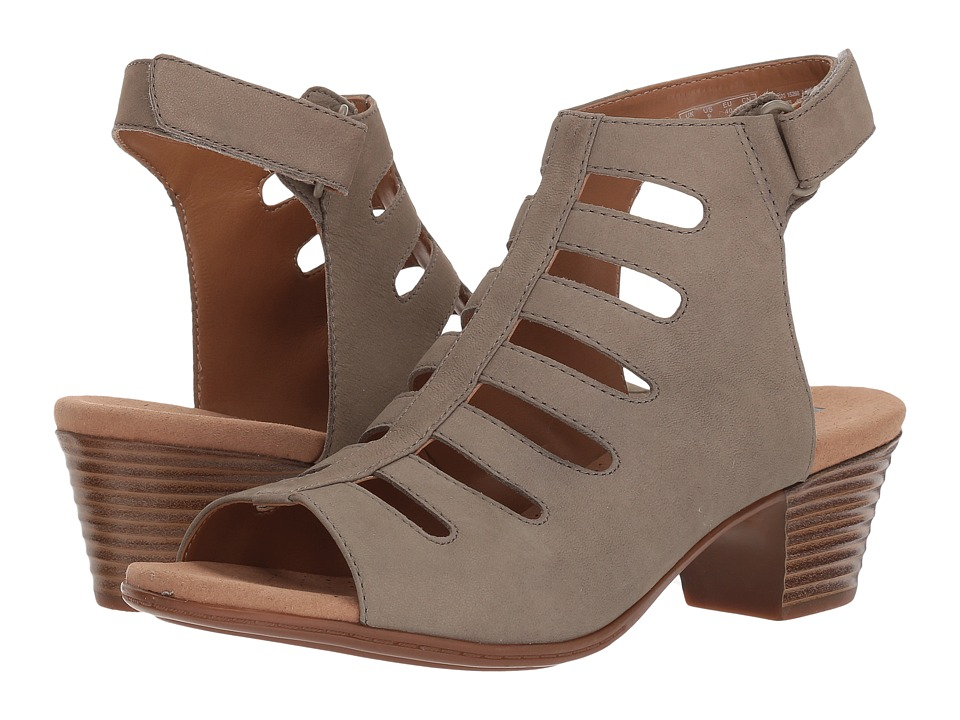 Clarks Valarie Shelly (Sage Nubuck) Sandals