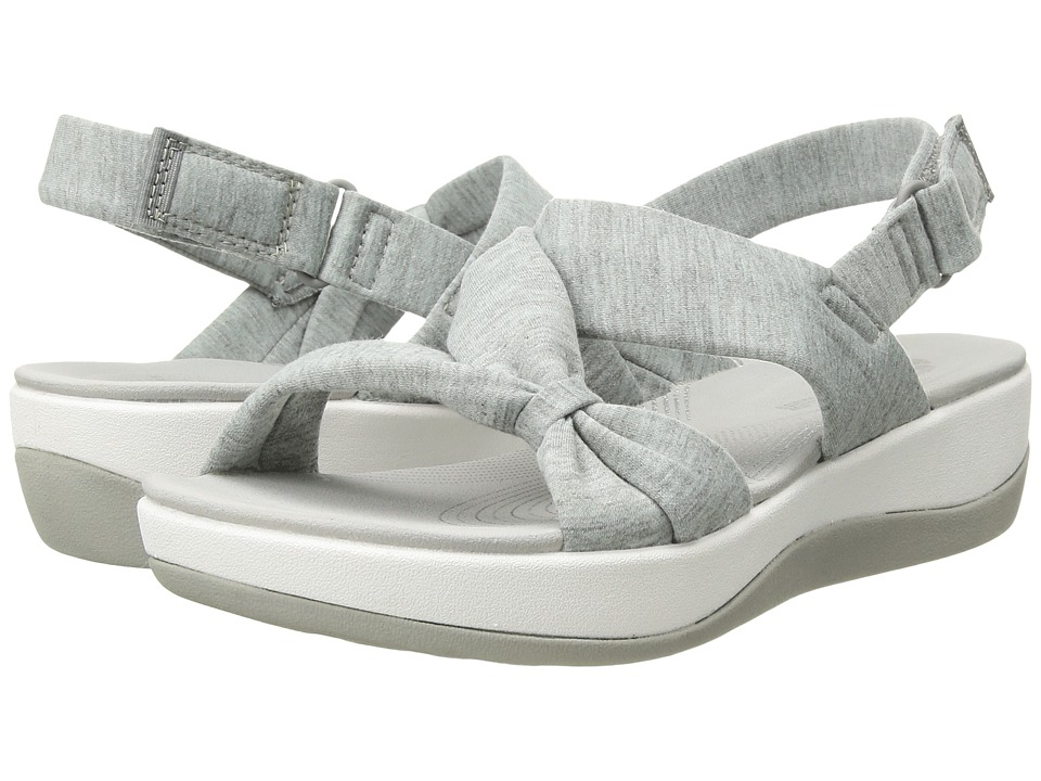 Clarks Arla Primrose (Grey Heathered Fabric) Sandals