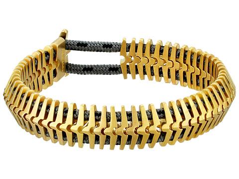 Miansai Klink Bracelet - Matte Brass