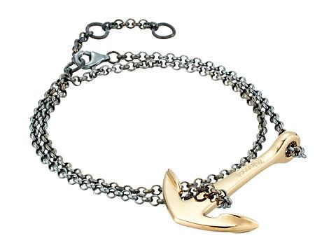 Miansai Anchor Chain Bracelet - Polished Gold