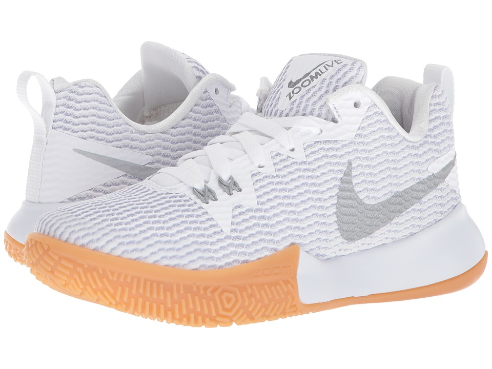 Nike Zoom Live II (White/Reflect Silver/Pure Platinum) Wo...