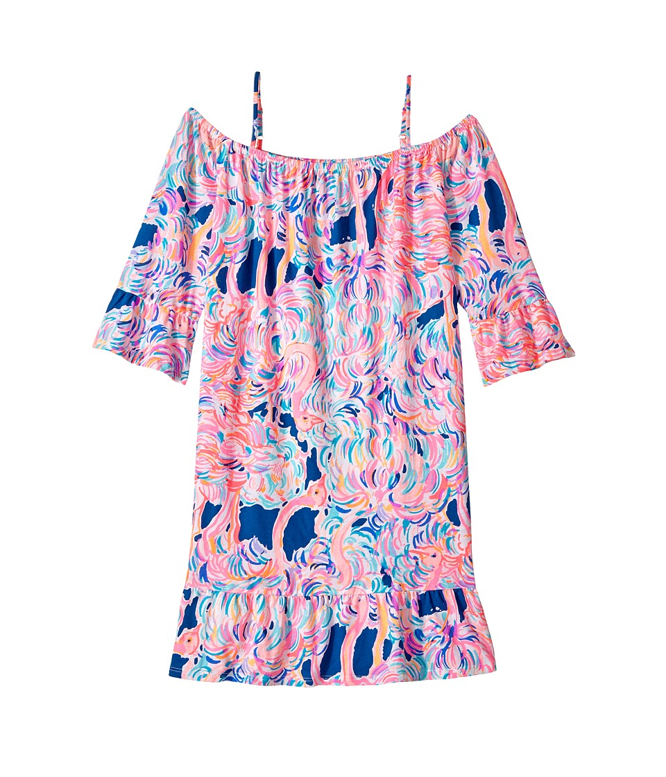 Lilly Pulitzer Kids Jaci Dress (Toddler/Little Kids/Big Kids) (Pelican Pink) Girl