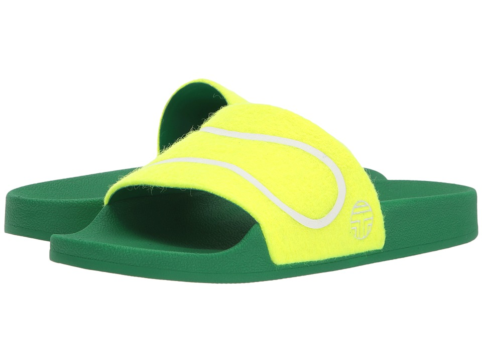 Tory Sport Tennis Ball Slide (Fluo Yellow)