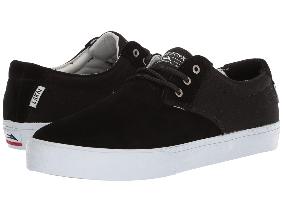 Lakai - Daly (Black Suede 3) Mens Shoes