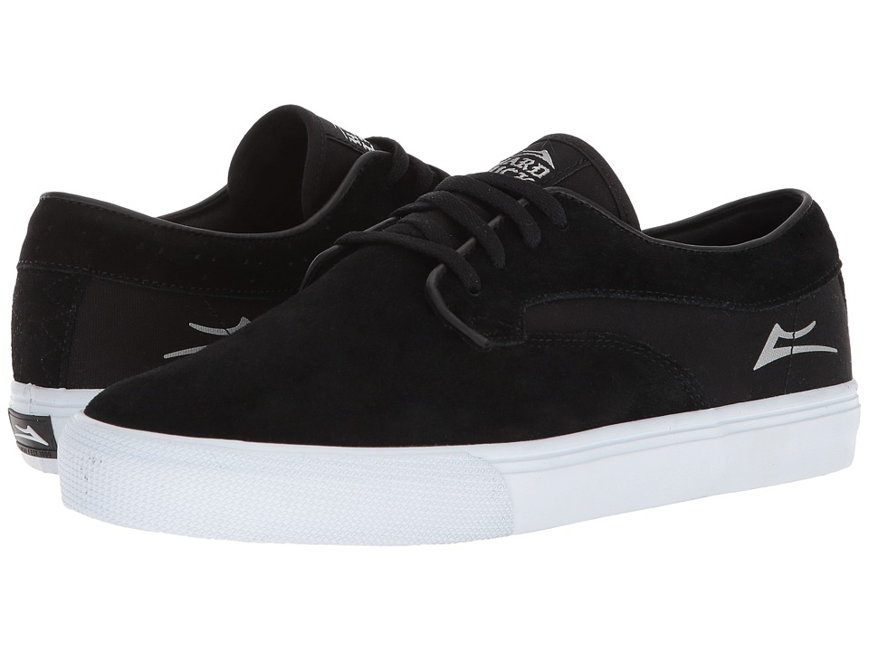 Lakai - Riley Hawk (Black Suede 2) Mens Skate Shoes
