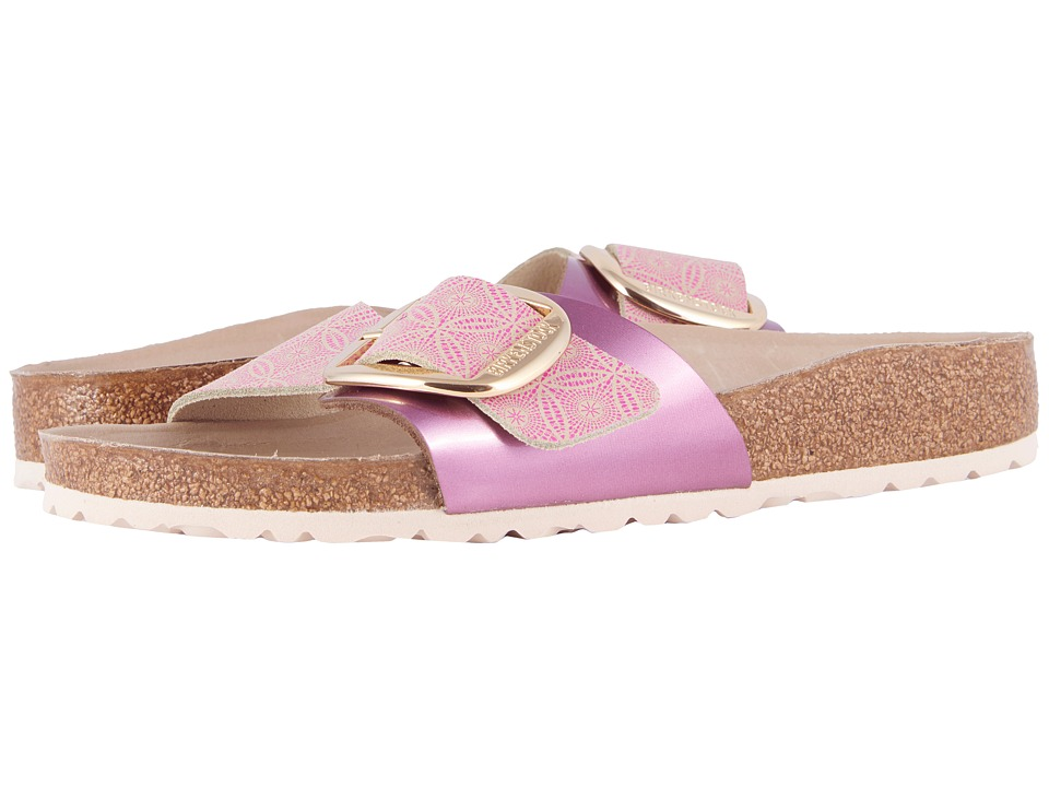 Birkenstock - Madrid Hex (Ceramic Rose Leather) Women's Sandals