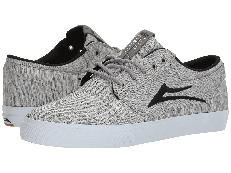 Lakai - Griffin (Grey Black Textile) Mens Skate Shoes