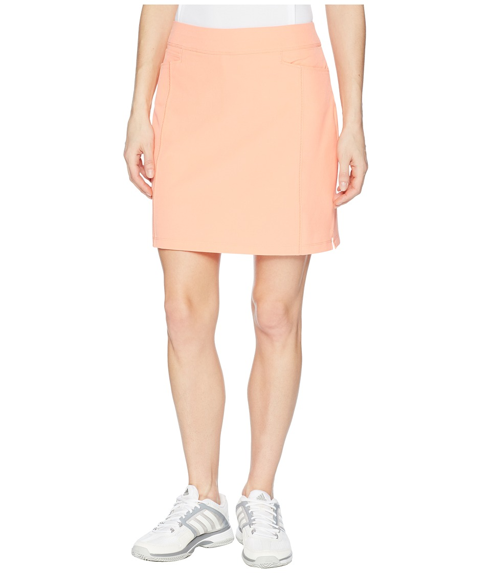 adidas Golf - Ultimate Adistar Skort (Chalk Coral) Womens Skort