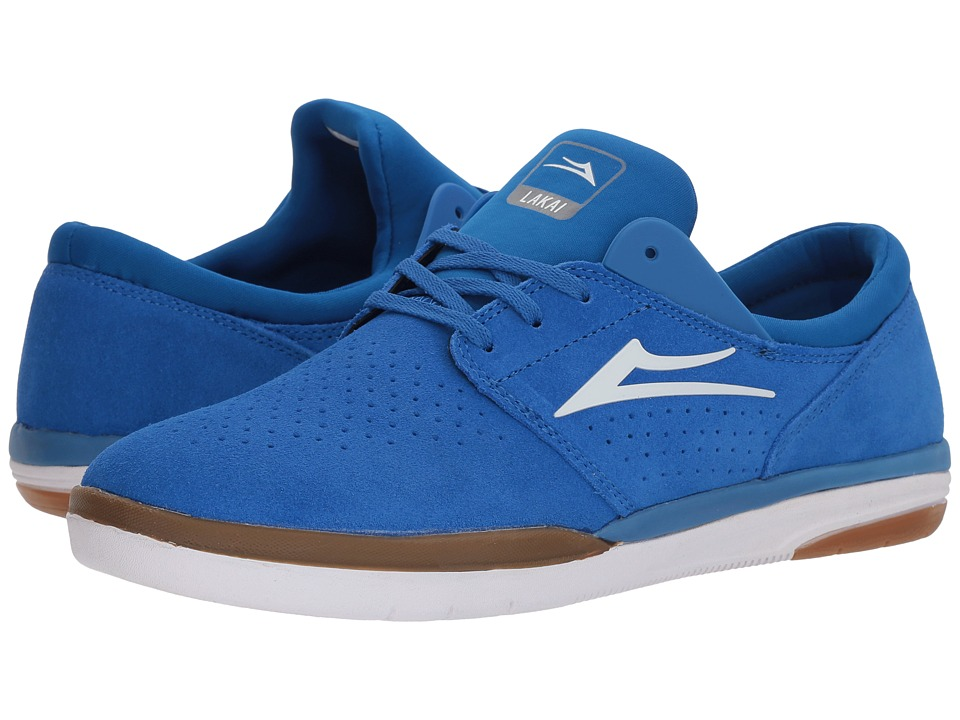 Lakai - Fremont (Royal/Gum Suede) Mens Skate Shoes